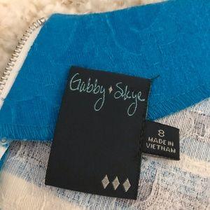 Gabby Skye Dresses - Gabby Skye Blue Dress sz 8